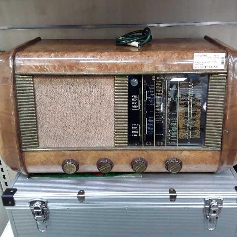 RADIO A VALVOLE MINERVA 515/4 | Mercatino dell'Usato Montesilvano 1