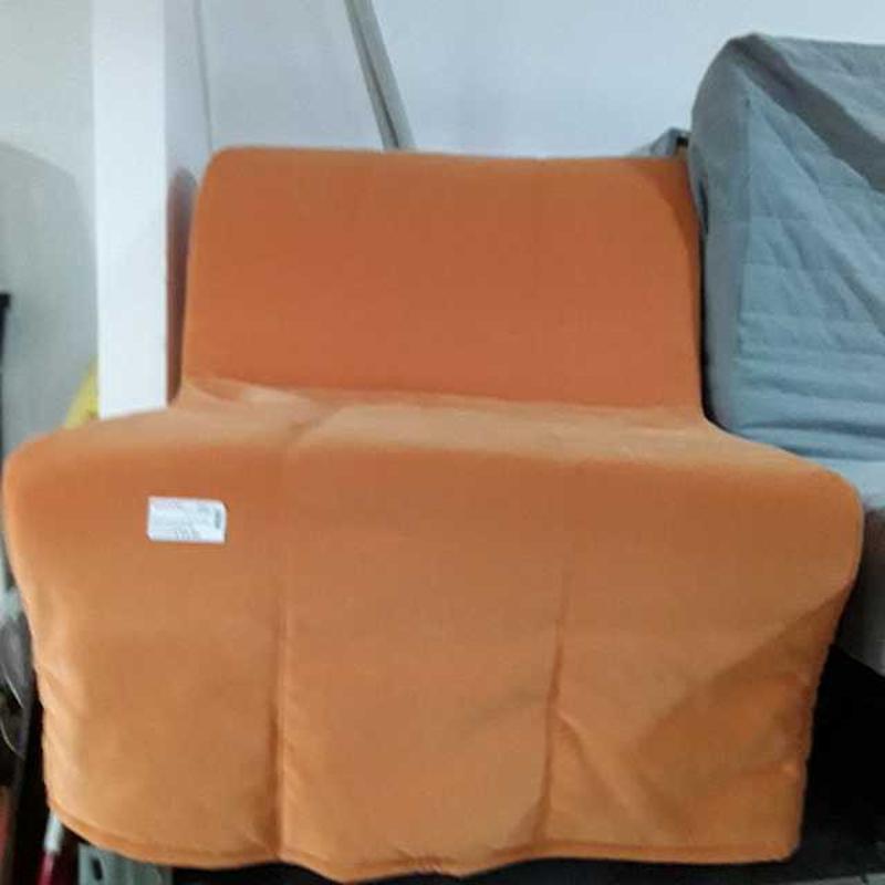 PRONTOLETTO LETTO SINGOLO ARANCIO IKEA   Mercatino dell'Usato Montesilvano 1