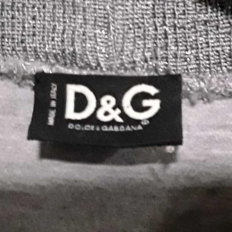 T SHIRT DONNA D&G GRIGIO PRUGNA STRASS | Mercatino dell'Usato Montesilvano 2