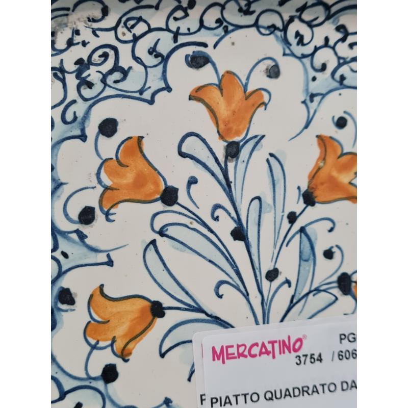 PIATTO QUADRATO DA MURO | Mercatino dell'Usato Perugia 2