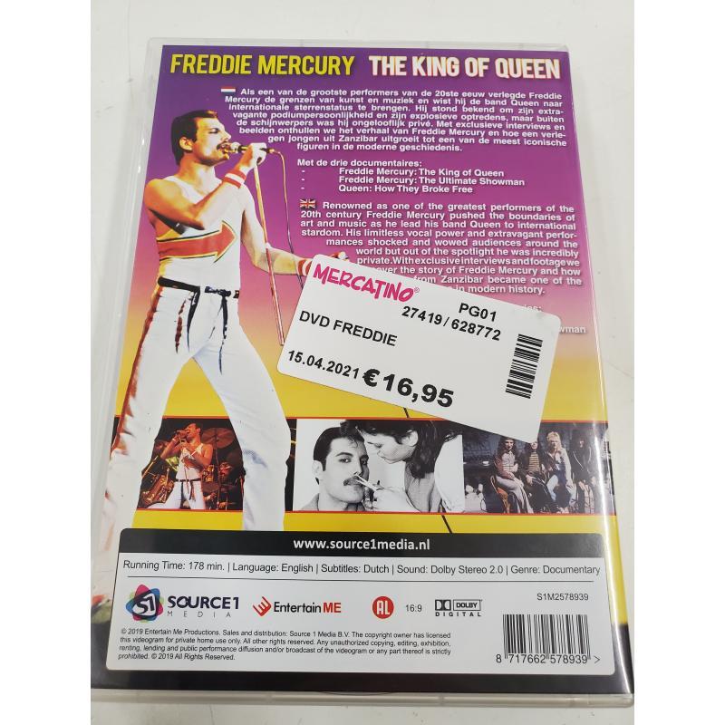 DVD FREDDIE   Mercatino dell'Usato Perugia 2