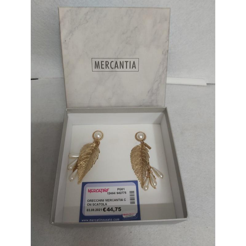 ORECCHINI MERCANTIA CON SCATOLA | Mercatino dell'Usato Perugia 1