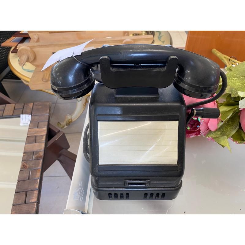 TELEFONO VINTAGE CON MANOVELLA | Mercatino dell'Usato Vigevano 1