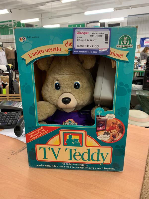 PELUCHE TV TEDDY | Mercatino dell'Usato Vigevano 1