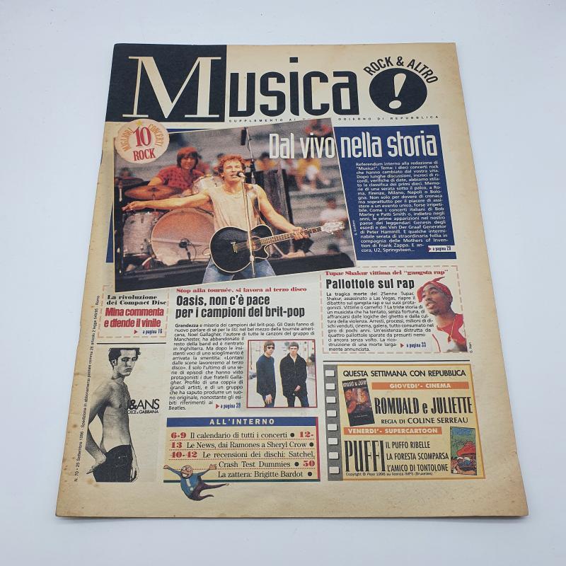 RIVISTA MUSICA 1996 | Mercatino dell'Usato Cervia 1