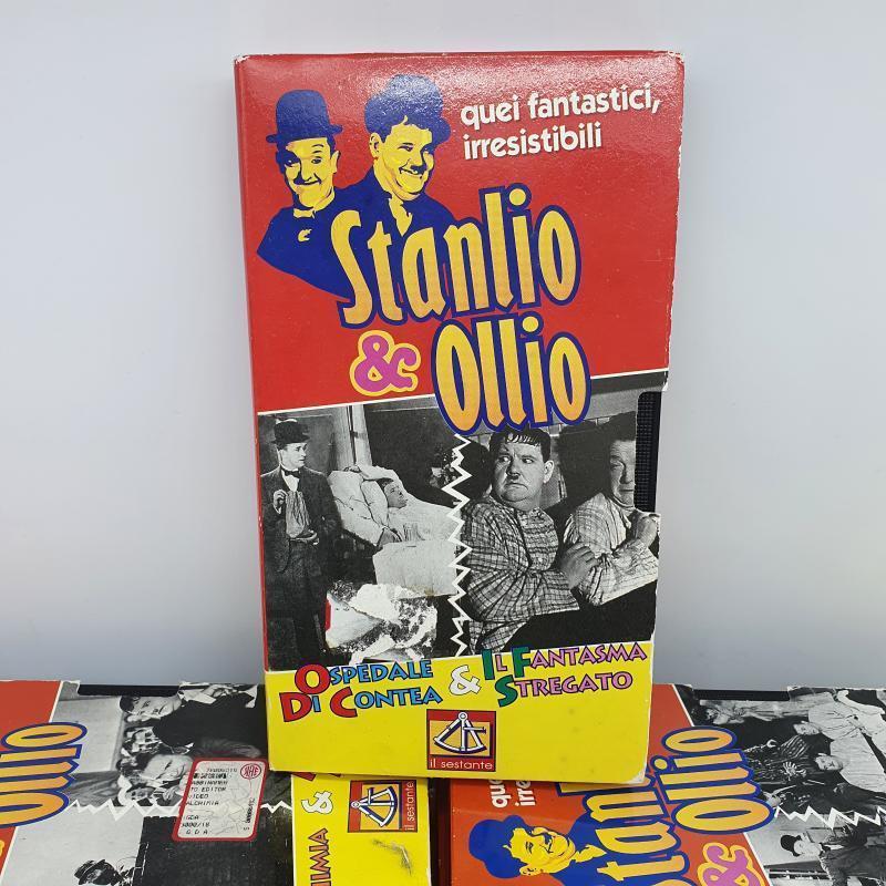 VHS X15 STANLIO&OLIO | Mercatino dell'Usato Cervia 2
