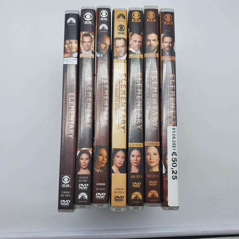 DVD SERIE TV ELENTARY DALLA 1/7 | Mercatino dell'Usato Cervia 1
