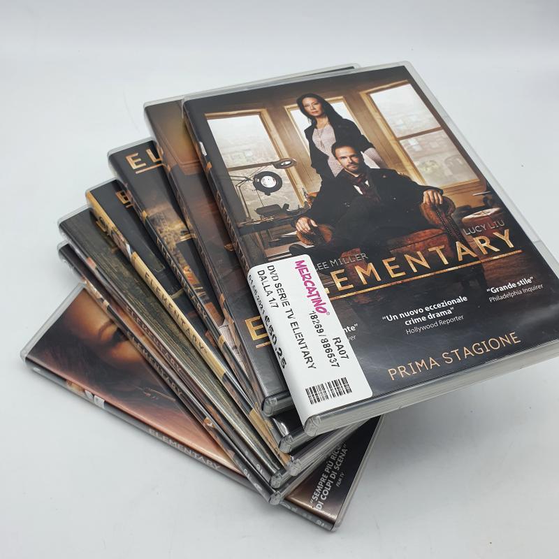 DVD SERIE TV ELENTARY DALLA 1/7 | Mercatino dell'Usato Cervia 2