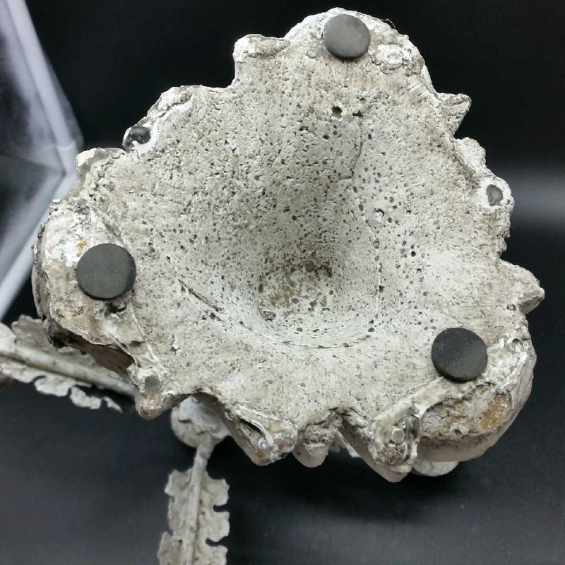 CANDELIERE GESSO   Mercatino dell'Usato Cervia 4