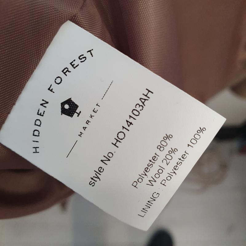 CAPPOTTO DONNA HIDDEN FOREST  | Mercatino dell'Usato Cervia 3
