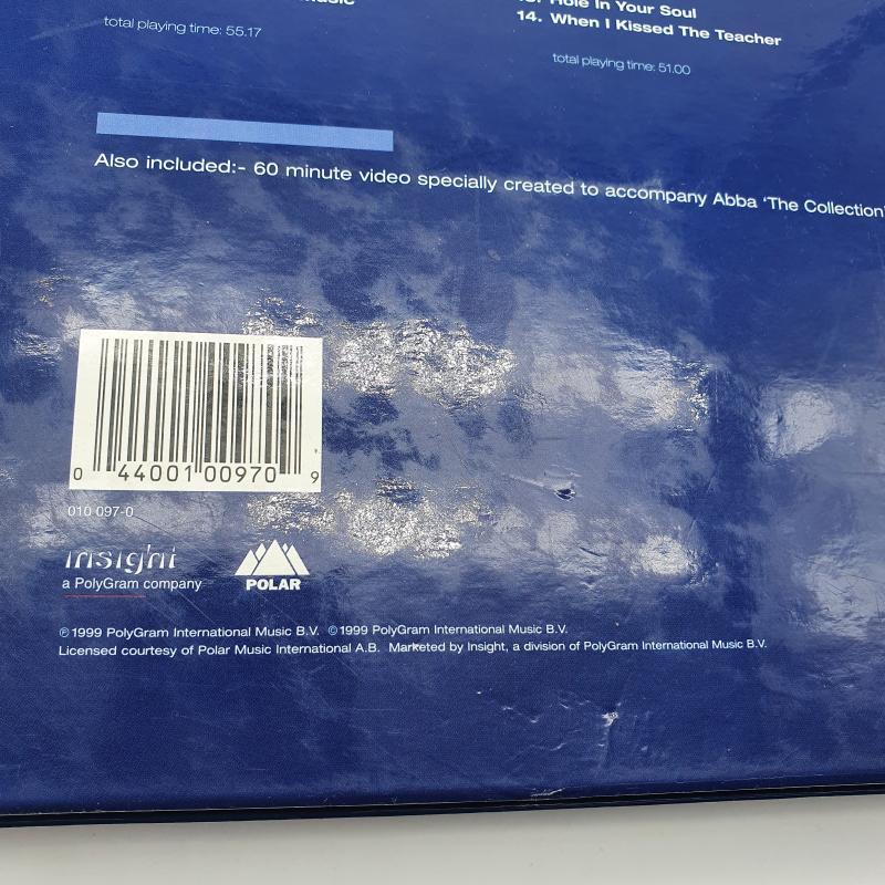 COFANETTO ABBA  CD +VHS   Mercatino dell'Usato Cervia 2