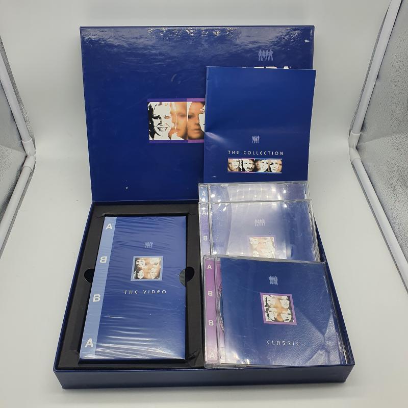 COFANETTO ABBA  CD +VHS   Mercatino dell'Usato Cervia 3