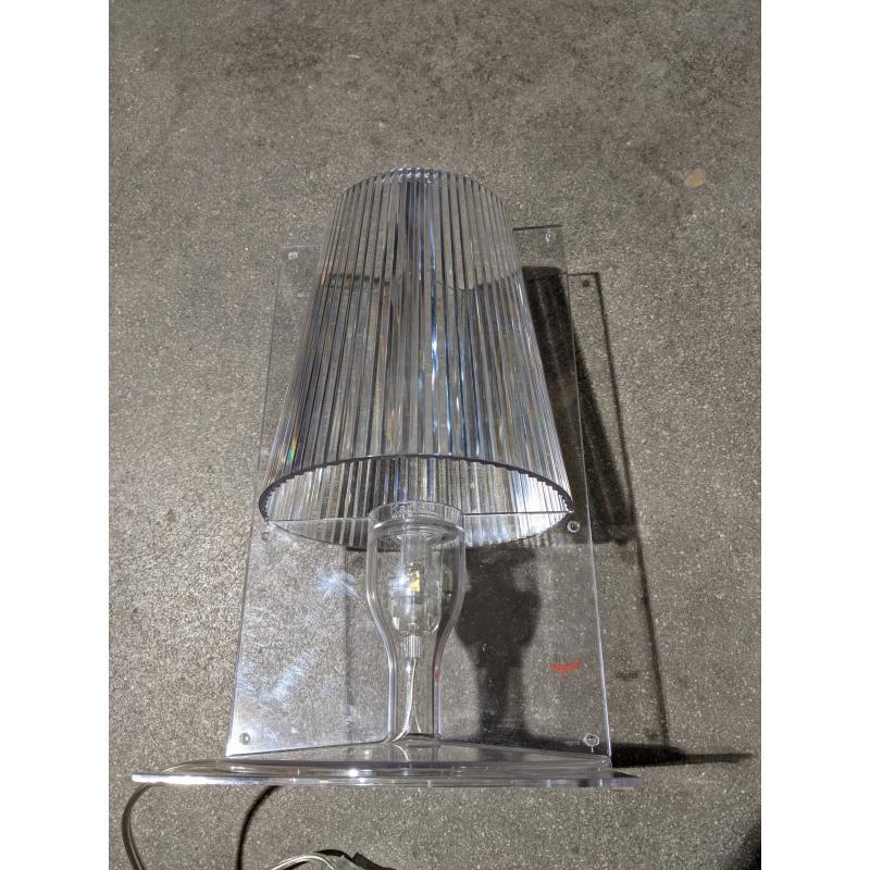 LAMPADA KARTELL MOD.TALE TRASPARENTE ABATJOUR DESIGN ORIGINALE   Mercatino dell'Usato Faenza 3