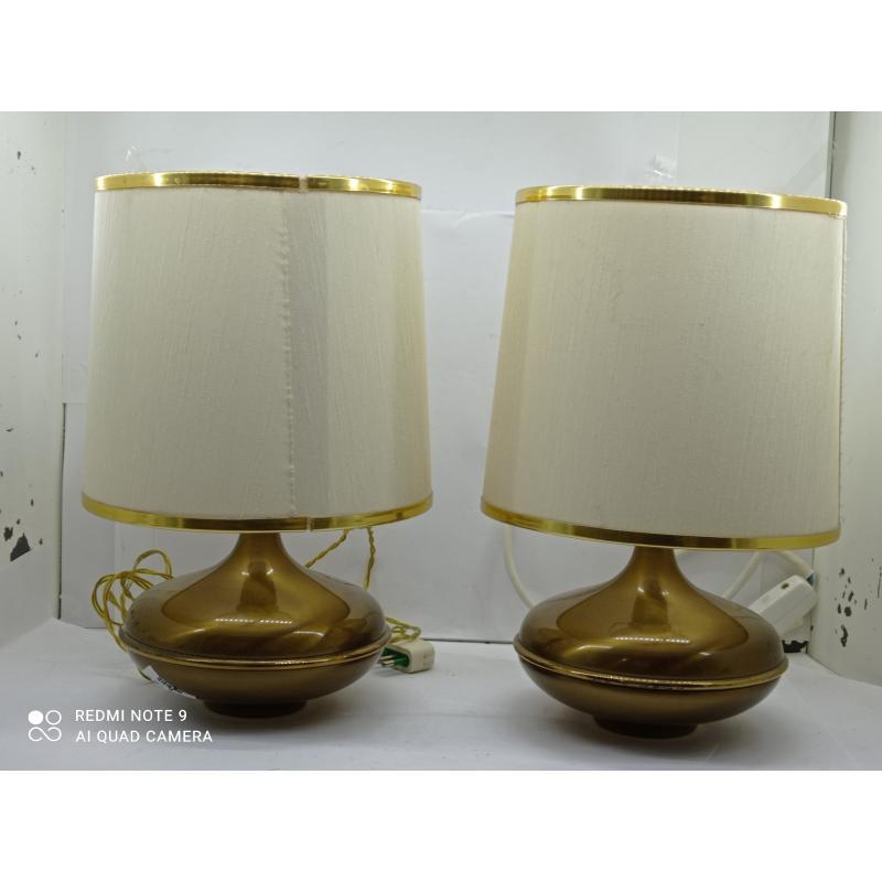 LAMPADE PZ. 2 BASE OTTONE | Mercatino dell'Usato Lugo 2