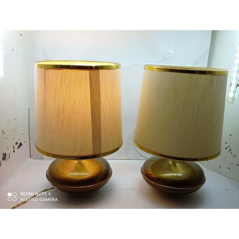 LAMPADE PZ. 2 BASE OTTONE | Mercatino dell'Usato Lugo 3