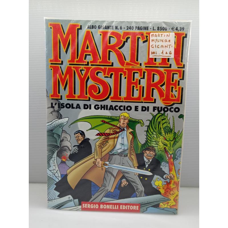 6 FUMETTI MARTIN MYSTERE ALBO GIGANTE  | Mercatino dell'Usato Lugo 1