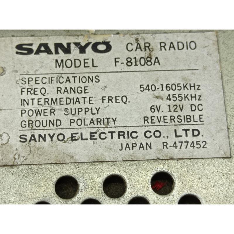 AUTORADIO VINTAGE SANYO | Mercatino dell'Usato Lugo 4