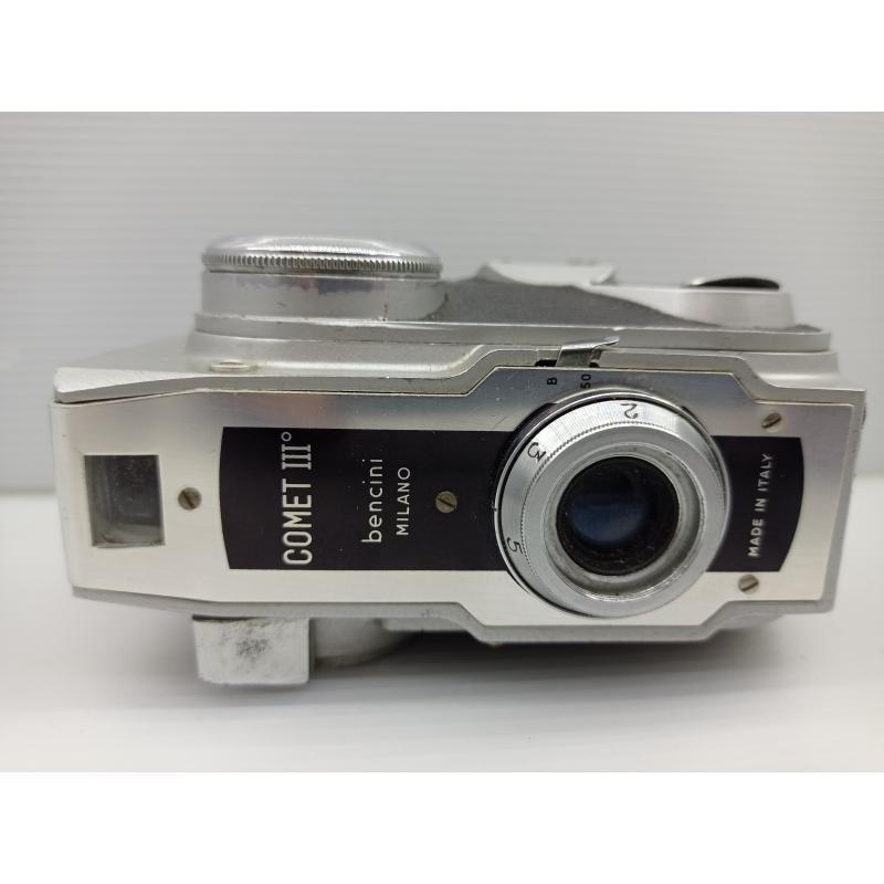 COMET III MACCHINA FOTOGRAFICA FOTOCAMERA VERTICALE VINTAGE   Mercatino dell'Usato Lugo 1