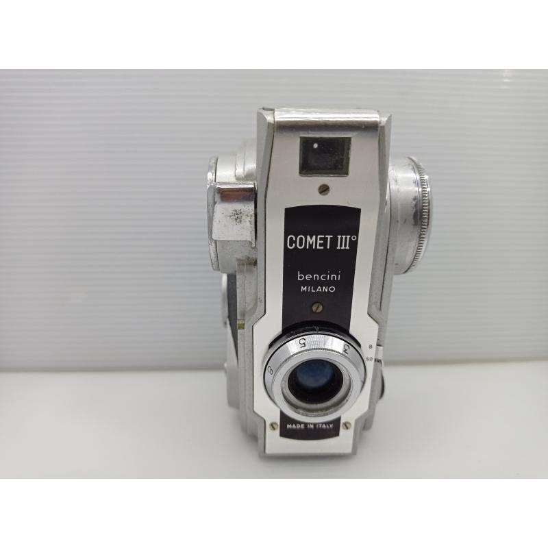 COMET III MACCHINA FOTOGRAFICA FOTOCAMERA VERTICALE VINTAGE   Mercatino dell'Usato Lugo 3