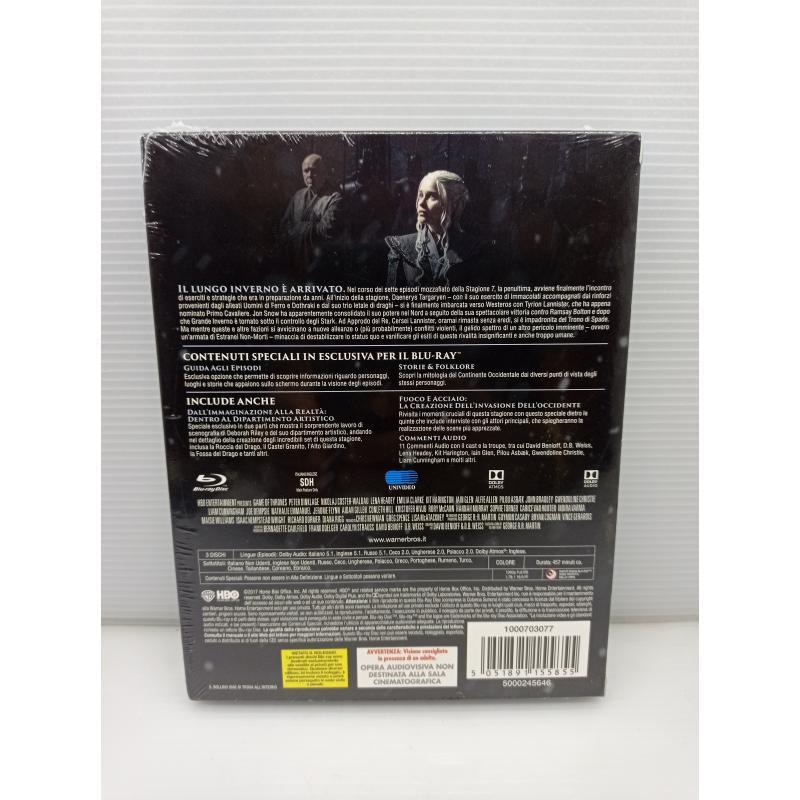 DVD BLUERAY IL TRONO DI SPADE SETTIMA STAGIONE | Mercatino dell'Usato Lugo 2