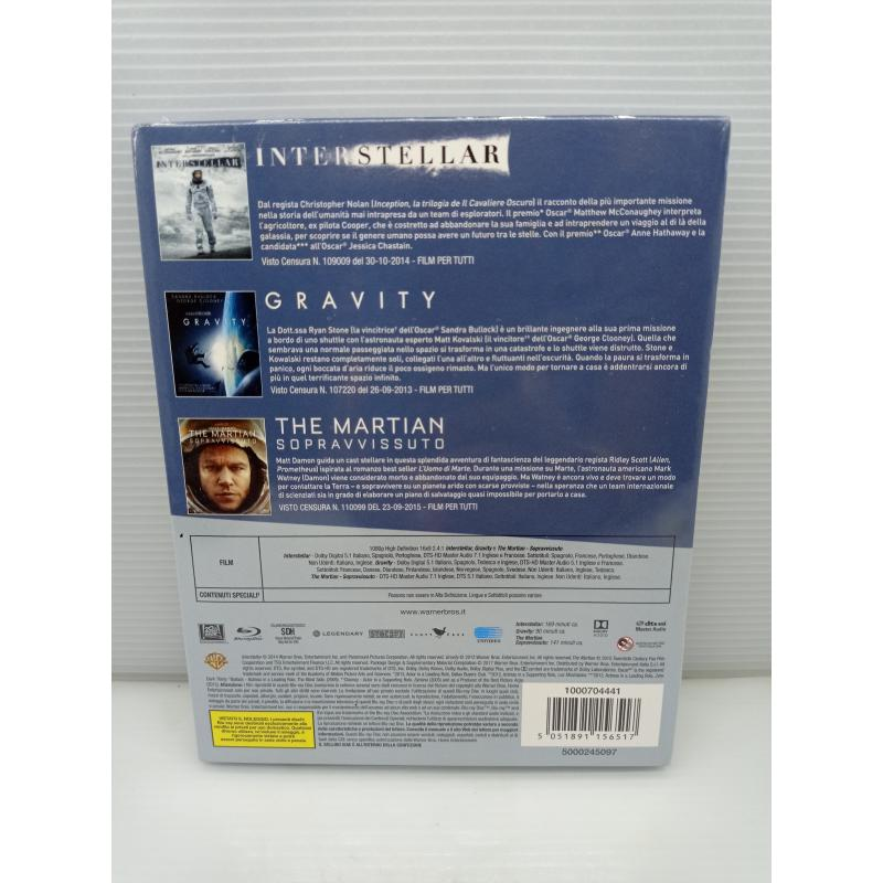 DVD FANTASCIENZA 3 FILM COLLECTION | Mercatino dell'Usato Lugo 2