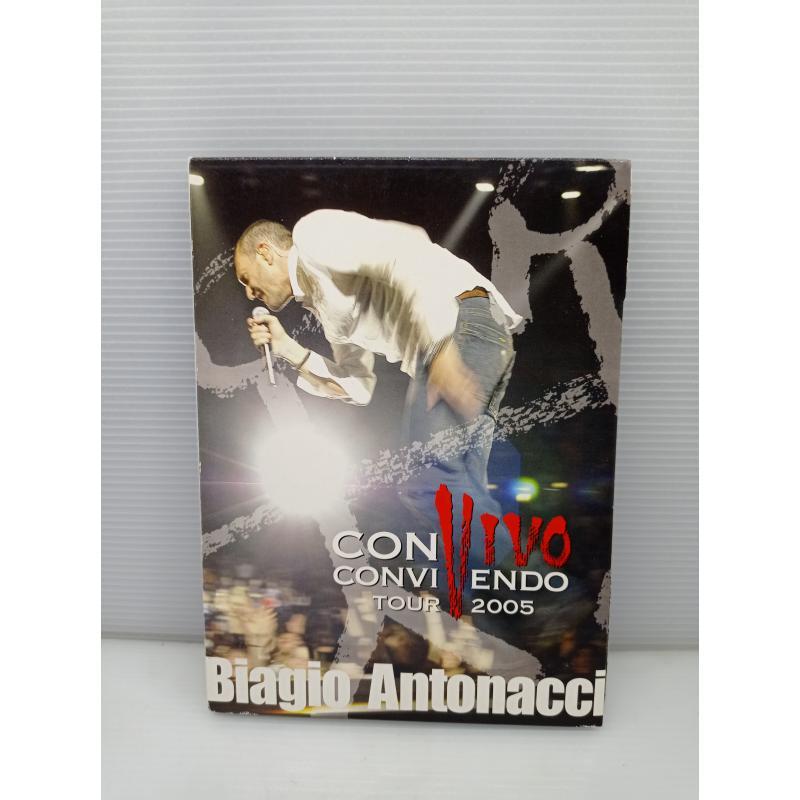 DVD MUSICA BIAGIO ANTONACCI CONVIVENDO TOUR 2005   Mercatino dell'Usato Lugo 1