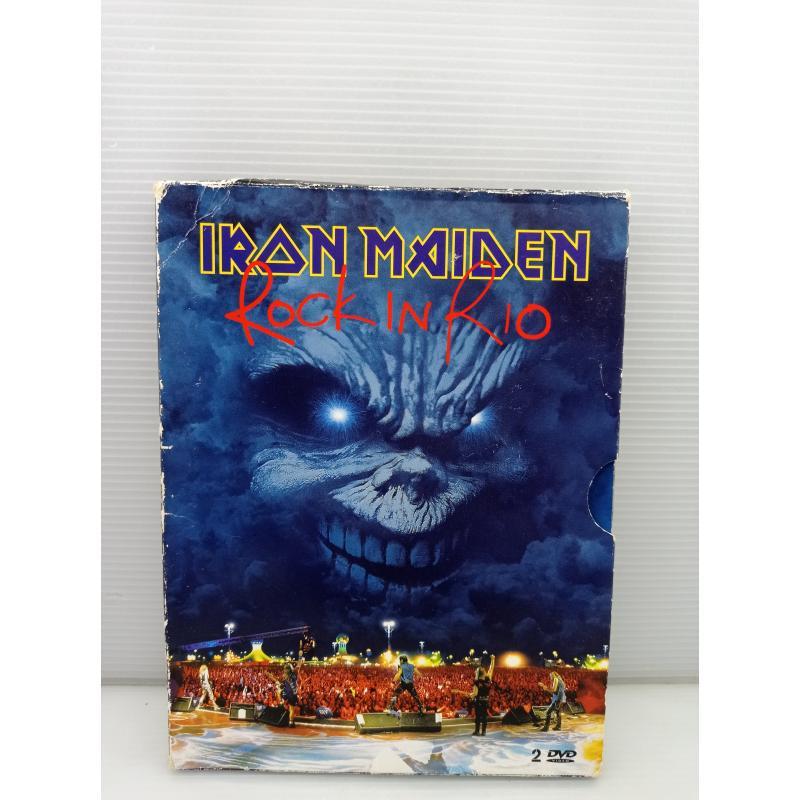 DVD MUSICA IRON MAIDEN ROCK IN RIO | Mercatino dell'Usato Lugo 1