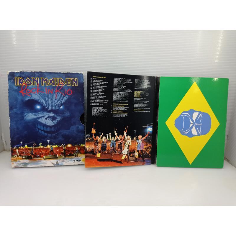 DVD MUSICA IRON MAIDEN ROCK IN RIO | Mercatino dell'Usato Lugo 2