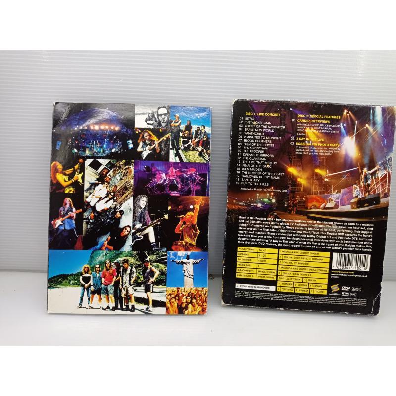 DVD MUSICA IRON MAIDEN ROCK IN RIO | Mercatino dell'Usato Lugo 3