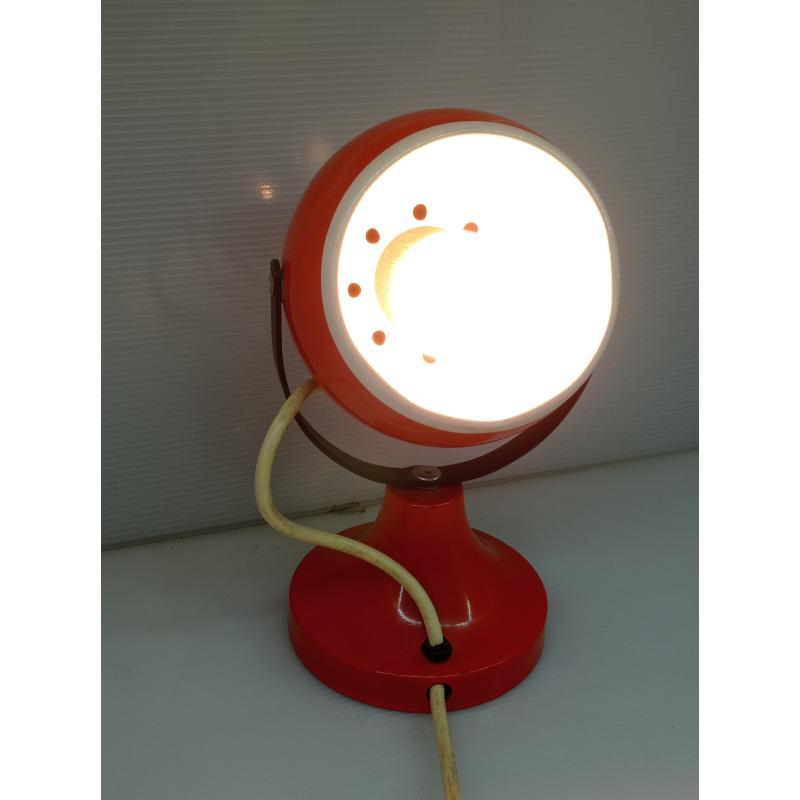 LAMPADA DA APPOGGIO VINTAGE ARANCIONE | Mercatino dell'Usato Lugo 1