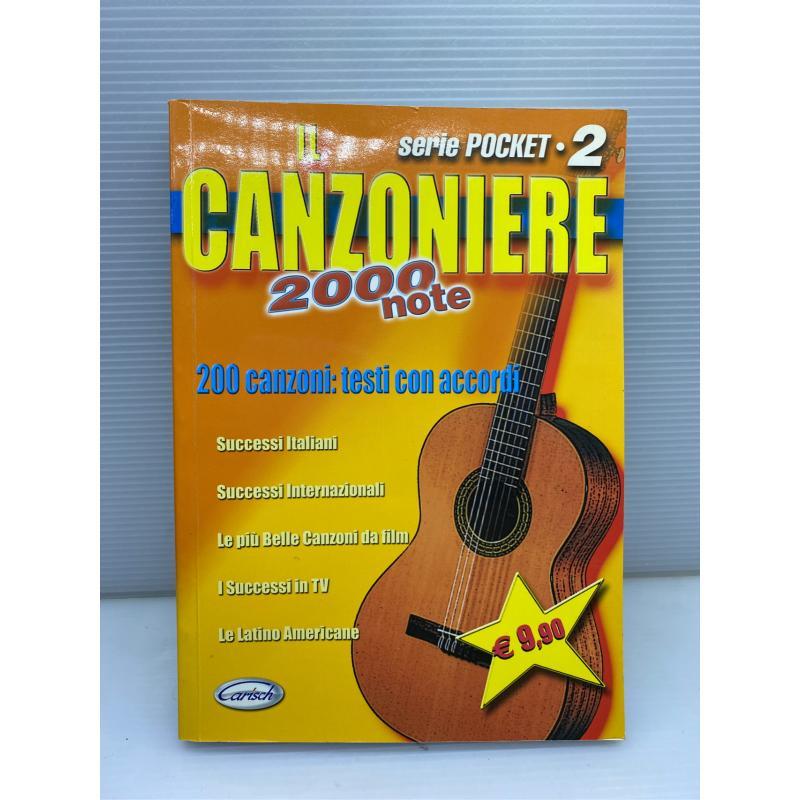 LIBRO CHITARRA IL CANZONIERE 2000 NOTE | Mercatino dell'Usato Lugo 1