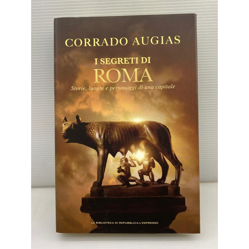 LIBRO I SEGRETI DI ROMA CORRADO AUGIAS   Mercatino dell'Usato Lugo 1