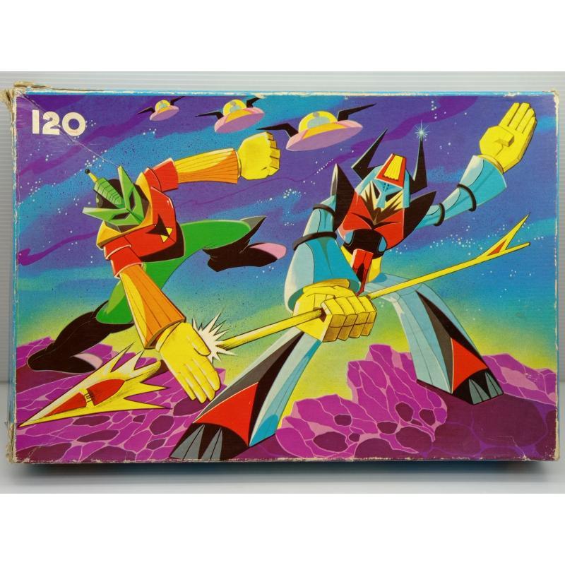 PUZZLE VINTAGE ATOMIC ROBOT | Mercatino dell'Usato Lugo 1