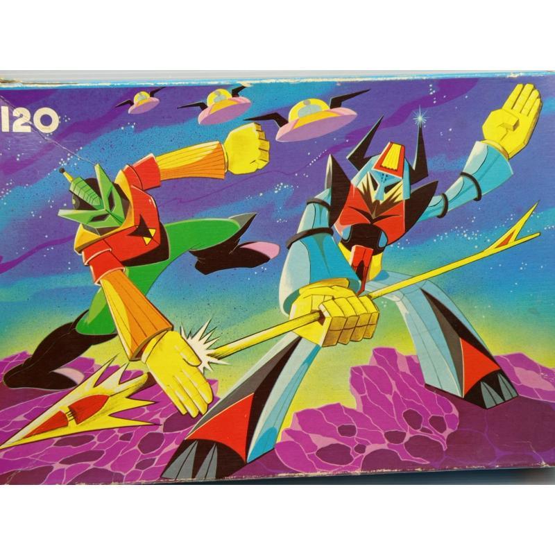 PUZZLE VINTAGE ATOMIC ROBOT | Mercatino dell'Usato Lugo 4