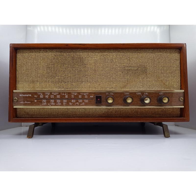 RADIO D'EPOCA SINUDYNE DE LUXE  | Mercatino dell'Usato Lugo 1
