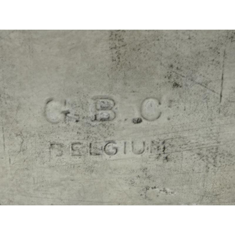 SCATOLA LATTA VINTAGE CON CHIUSURA NO CHIAVE G.B.C BELGIUM | Mercatino dell'Usato Lugo 4