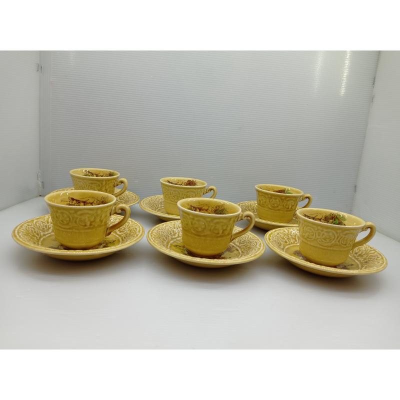 SERVIZIO CAFFÈ CERAMICA CROWN DEVON STAFFORDSHIRE ENGLAND  | Mercatino dell'Usato Lugo 3