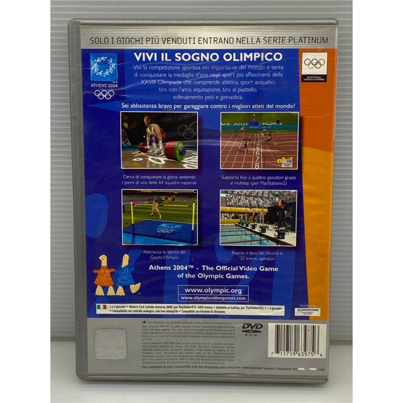 VIDEO GIOCO PS2 ATHENS 2004   Mercatino dell'Usato Lugo 2