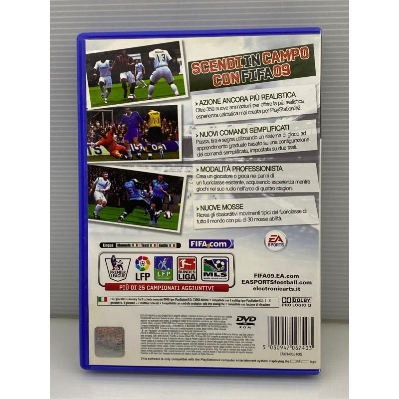 VIDEO GIOCO PS2 FIFA 09   Mercatino dell'Usato Lugo 2