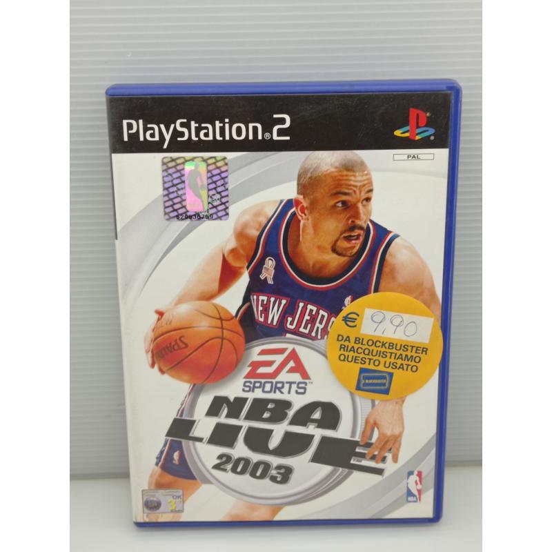 VIDEO GIOCO PS2 NBA LIVE 2003 PLAYSTATION | Mercatino dell'Usato Lugo 1