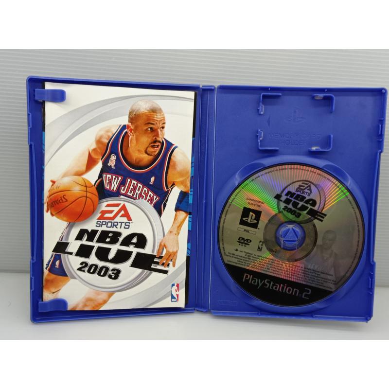VIDEO GIOCO PS2 NBA LIVE 2003 PLAYSTATION | Mercatino dell'Usato Lugo 2