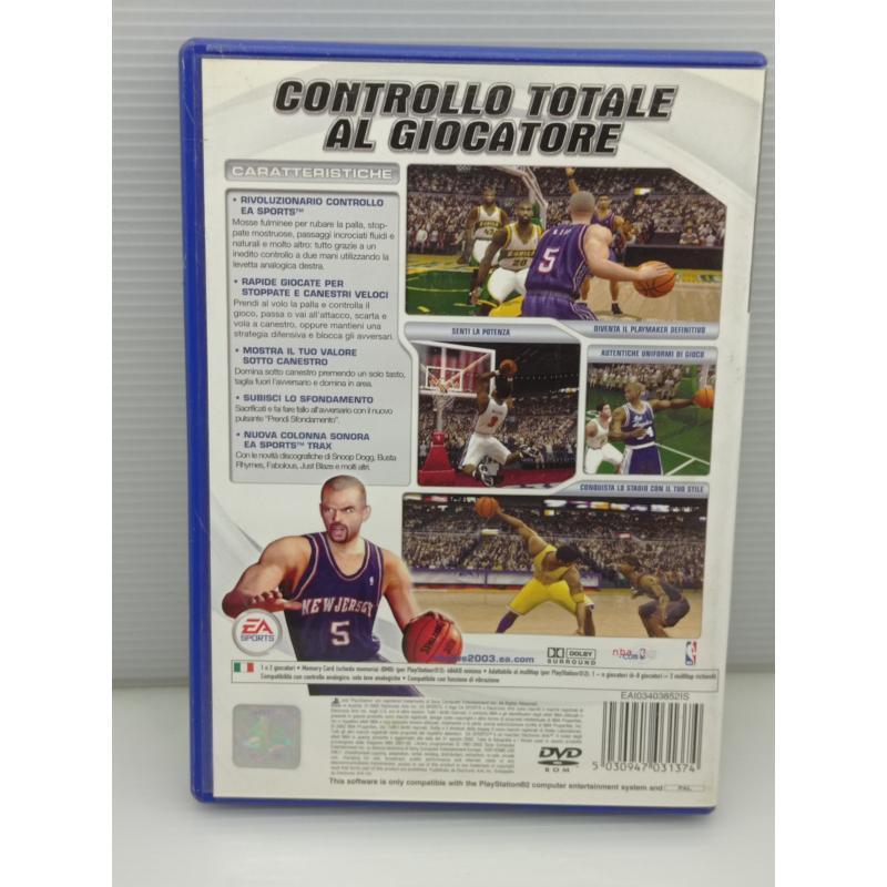 VIDEO GIOCO PS2 NBA LIVE 2003 PLAYSTATION | Mercatino dell'Usato Lugo 3