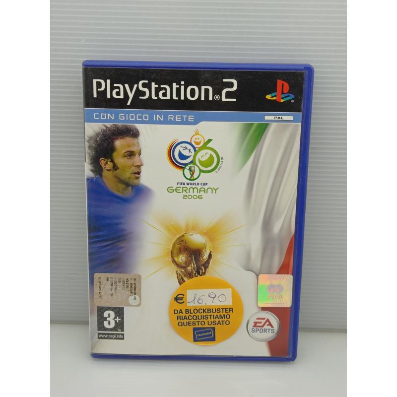 VIDEO GIOCO PS2 PLAYSTATION MONDIALI FIFA 2006 | Mercatino dell'Usato Lugo 1