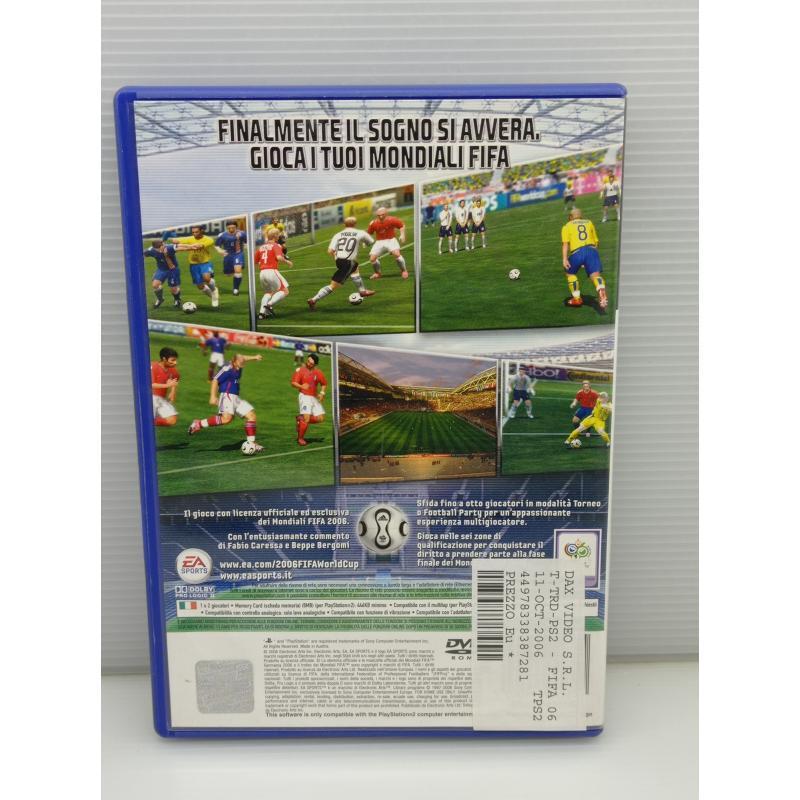 VIDEO GIOCO PS2 PLAYSTATION MONDIALI FIFA 2006 | Mercatino dell'Usato Lugo 3