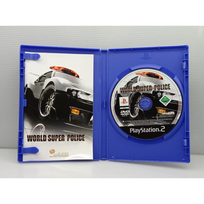 VIDEO GIOCO PS2 PLAYSTATION WORLD SUPER POLICE | Mercatino dell'Usato Lugo 2