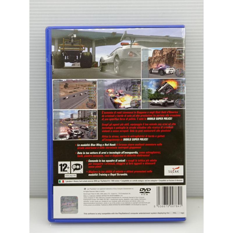 VIDEO GIOCO PS2 PLAYSTATION WORLD SUPER POLICE | Mercatino dell'Usato Lugo 3