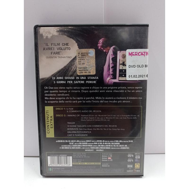 DVD OLD BOY | Mercatino dell'Usato Roma garbatella 2
