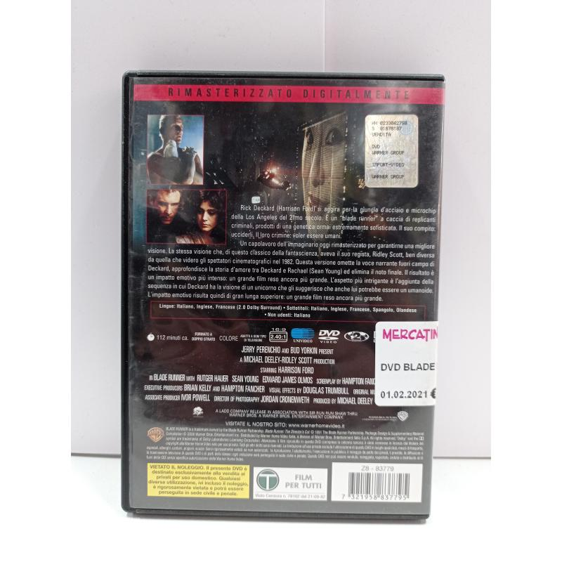 DVD BLADE RUNNER | Mercatino dell'Usato Roma garbatella 2