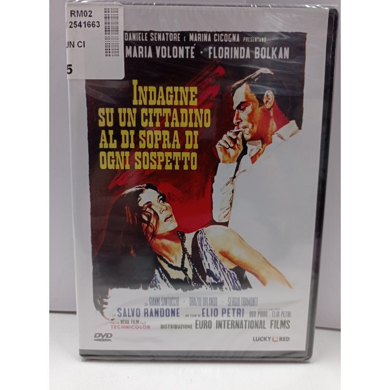 DVD INDAGINE SU UN CITTADINO AL DI SOPRA DI OGNI SOSPETTO | Mercatino dell'Usato Roma garbatella 1