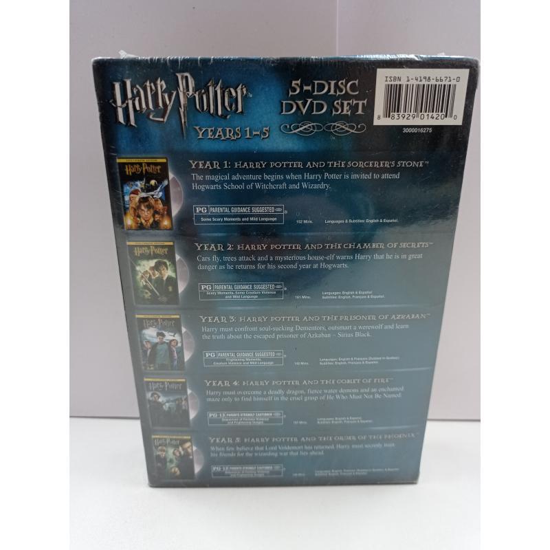 DVD HARRY POTTER 1-5 LINGUA INGLESE | Mercatino dell'Usato Roma garbatella 2